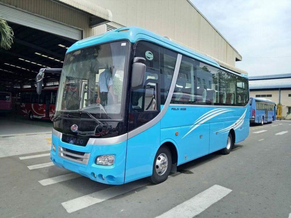 Cho thuê xe du lịch 29 chỗ, 30 chỗ tại khu vực Quận 7 Hồ Chí Minh
